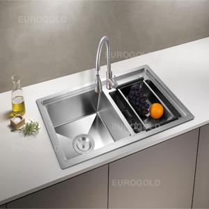 Chậu rửa bát inox 304 Eurogold EUP18246