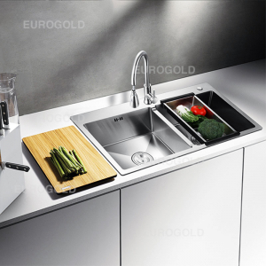 Chậu rửa bát inox 304 Eurogold EUS18245