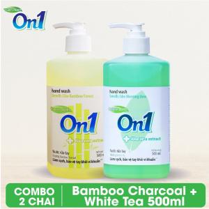 COMBO 2 chai Nước rửa tay sạch khuẩn On1 500ml - RT504 + RT503