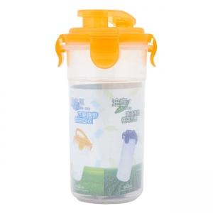 Combo Bộ 2 ly nhựa đựng nước có nắp 350ml
