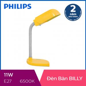 Đèn bàn Philips Billy 11W (Vàng)