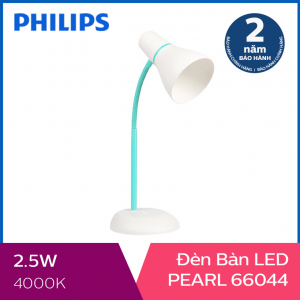Đèn bàn Philips LED Pearl 66044 2.6W (Xanh)