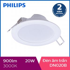 Đèn Downlight âm trần Philips LED DN020B 20W 3000K - Ánh sáng vàng