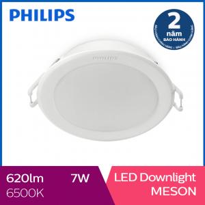 Đèn Downlight âm trần Philips LED Meson 59202 7W 6500K- Ánh sáng trắng