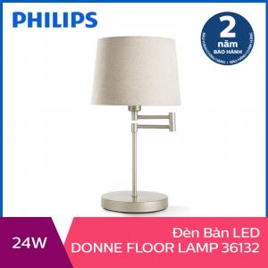 Đèn trang trí để bàn Philips Donne 36132 tặng 01 bóng đèn Philips LED Scene Switch 2 cấp độ ánh sáng vàng