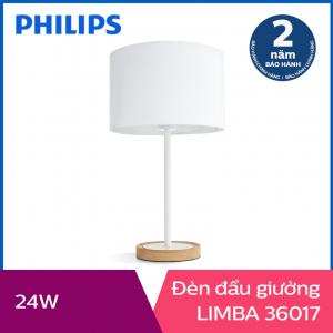 Đèn trang trí để bàn Philips Limba 36017 tặng 01 bóng đèn Philips LED Scene Switch 2 cấp độ ánh sáng vàng