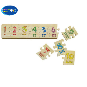 Đồ chơi gỗ Puzzle ghép số Winwintoys 63392