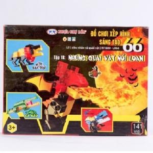 Đồ chơi xếp hình - M1089-LR66 (Số 66 - L5 - Tập 18)