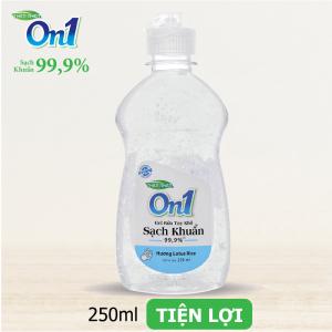 Gel Rửa Tay Khô ON1 250ml Sạch Khuẩn Hương Lotus Rice