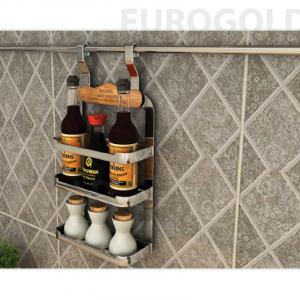 Giá treo gia vị 3 tầng inox 304 Eurogold EV38