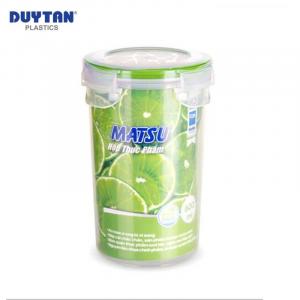 Hộp Nhựa Tròn Đựng Thực Phẩm Duy Tân Matsu dung tích 600ml - 03413