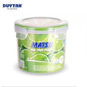 Hộp Nhựa Tròn Đựng Thực Phẩm Duy Tân Matsu dung tích 900ml - 03420