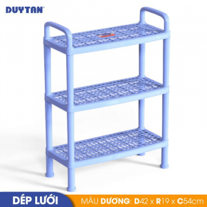Kệ dép lưới nhỏ Duy Tân - 3 tầng - Nhiều màu - 555/3