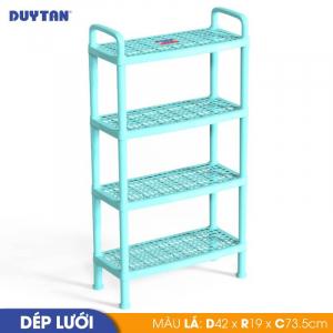 Kệ dép lưới nhỏ Duy Tân - 4 tầng - Nhiều màu - 555/4