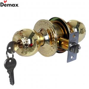 Khóa cửa tay nắm tròn Demax LK801 PB