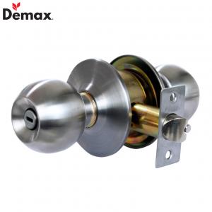 Khóa cửa tay nắm tròn WC Nhà vệ sinh Demax LK300 SS