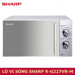 Lò vi sóng Sharp R-G227VN-M 20 lít