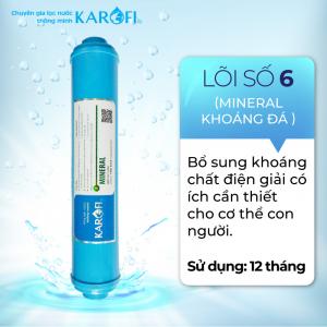 Lõi Số 6 RO KAROFI - Khoáng Đá Mineral