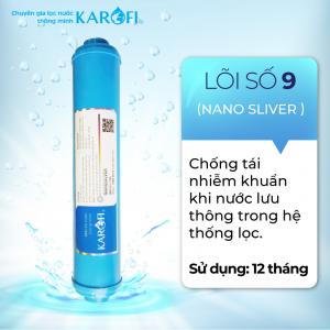 Lõi Số 9 RO KAROFI - Nano Sliver