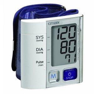 Máy đo huyết áp cổ tay Citizen CH-657