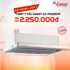 Máy hút mùi âm tủ bếp 7 tấc Canzy CZ-7002SYP