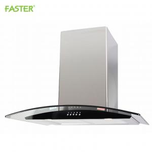 Máy hút mùi bếp kính cong 7 tấc Faster FS-3388C1-70B