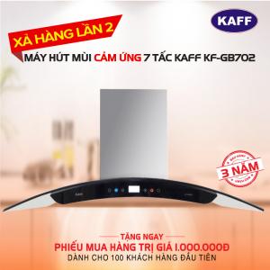 Máy hút mùi bếp kính cong cảm ứng 7 tấc KAFF KF-GB702