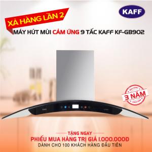 Máy hút mùi bếp kính cong cảm ứng KAFF KF-GB902