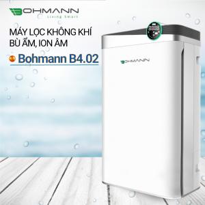Máy lọc không khí bù ẩm, ion âm Bohmann B4.02