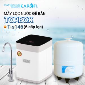 Máy lọc nước RO để bàn, gầm tủ KAROFI TOPBOX T-s146 (6 cấp lọc)