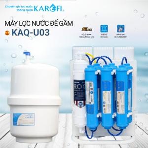 Máy lọc nước RO để gầm, không tủ KAROFI KAQ-U03 (10 cấp lọc)