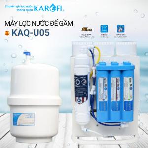 Máy lọc nước RO để gầm, không tủ KAROFI KAQ-U05 (10 cấp lọc)