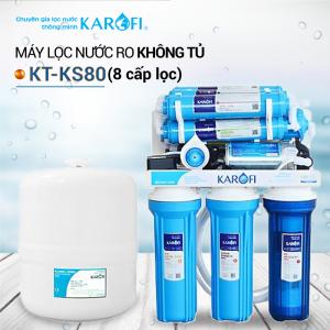 Máy lọc nước RO để gầm, không tủ sRO KAROFI KT-KS80 (8 cấp lọc)