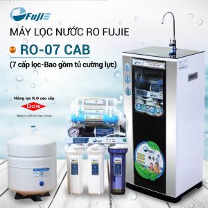 Máy lọc nước RO FUJIE RO-07 CAB (7 cấp lọc - Bao gồm tủ cường lực)