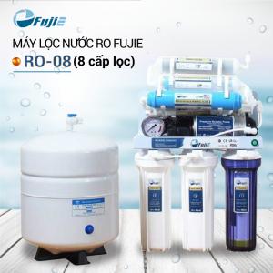 Máy lọc nước RO để gầm, không tủ FUJIE RO-08 (8 cấp lọc)