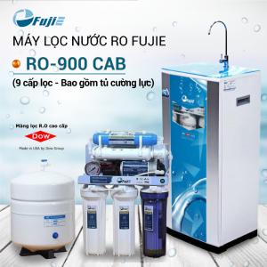 Máy lọc nước RO FUJIE RO-900 CAB (9 cấp lọc - Bao gồm tủ cường lực)