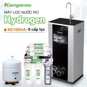 Máy lọc nước RO KANGAROO KG100HA VTU (9 cấp lọc - Lõi Hydrogen)