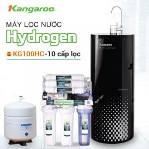 Máy lọc nước RO KANGAROO KG100HC HYDROGEN (10 cấp lọc - Bao gồm tủ cường lực)