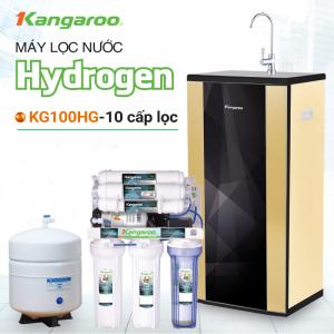 Máy lọc nước RO KANGAROO KG100HG VTU HYDROGEN (10 cấp lọc - Bao gồm tủ cường lực)