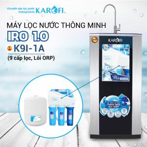 Máy lọc nước RO KAROFI iRO 1.1 K9I-1A (9 cấp lọc - Lõi ORP)