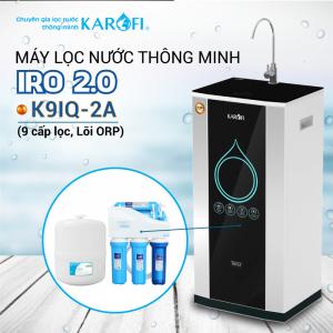 Máy lọc nước RO KAROFI iRO 2.0 K9IQ-2A (9 cấp lọc - Lõi ORP)