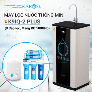 Máy lọc nước RO KAROFI K9IQ-2 Plus (9 cấp lọc - Lõi Hydrogen)