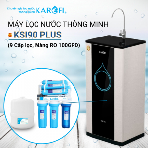 Máy lọc nước RO KAROFI KSI90 Plus (9 cấp lọc - Lõi Hydrogen)