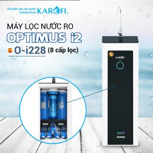 Máy lọc nước RO KAROFI OPTIMUS i2 O-i228 (8 cấp lọc)