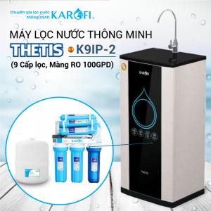 Máy lọc nước RO KAROFI THETIS K9IP-2 (9 cấp lọc - Lõi Hydrogen)