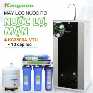Máy lọc nước RO nhiễm mặn, lợ KANGAROO KG3500A VTU (10 cấp lọc)
