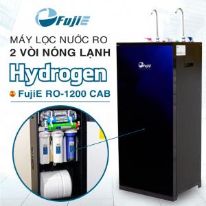 Máy lọc nước RO nóng lạnh FujiE RO-1200 CAB HYDROGEN