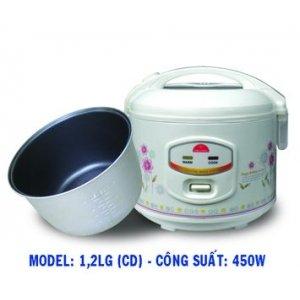 Nồi cơm điện Kim Cương 1.2LG