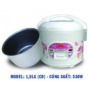 Nồi cơm điện Kim Cương 1.5LG
