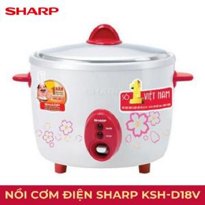 Nồi cơm điện Sharp KSH-D18V (1.8L)